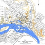 1853 Historic Map of Richmond, VA